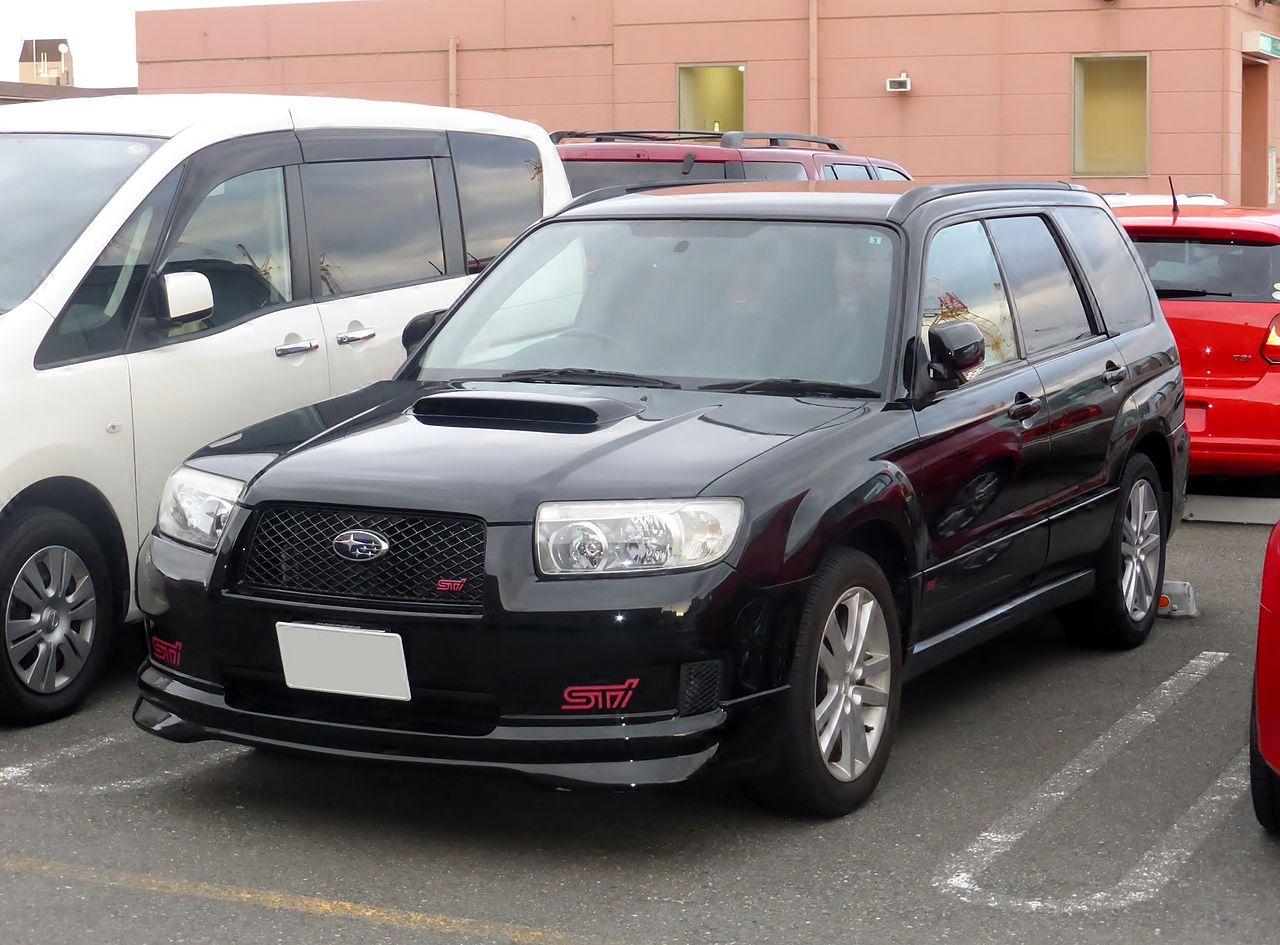Subaru Forester Sti Andrews Japanese Cars