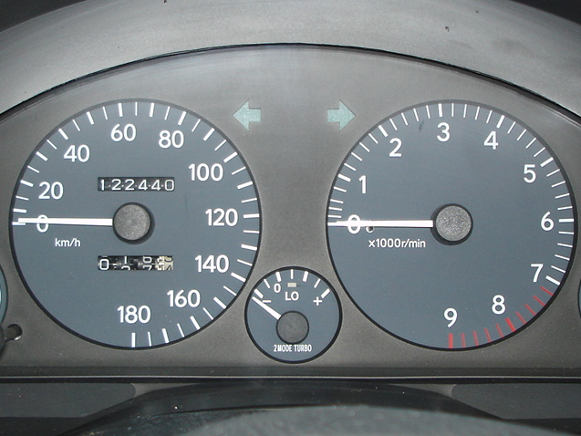 Speedometer Conversion - Andrew's Japanese Cars