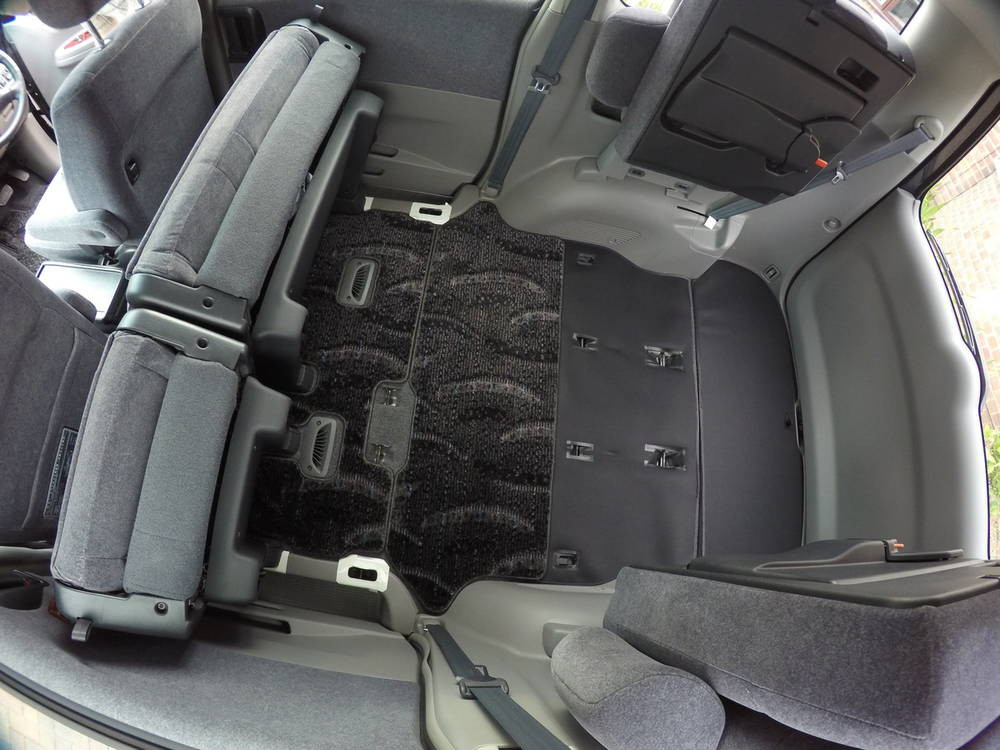 Toyota Noah Middle Seat Row Rear Seats Folded Andrew S