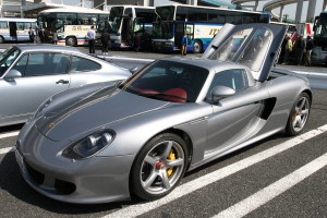 Picture of a Porsche Carrera GT at Daikoku Futo
