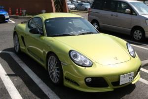 Porsche Cayman R at Daikoku Futo
