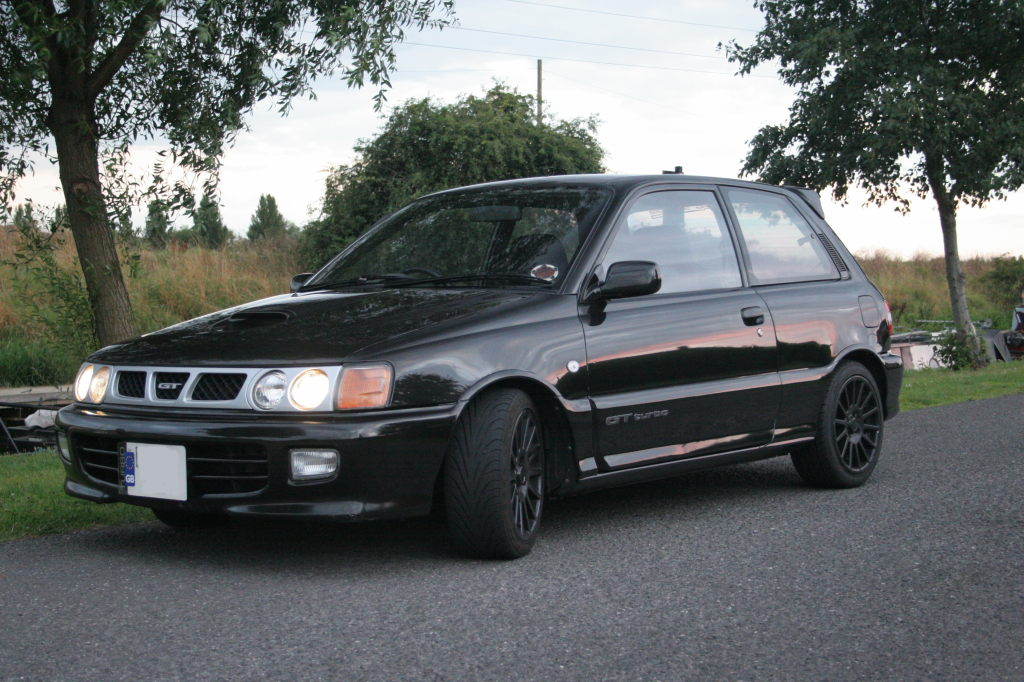 Picture of a 1994 Toyota EP82 Starlet GT Turbo
