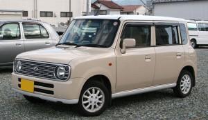 Picture of a Suzuki Alto Lapin L kei car