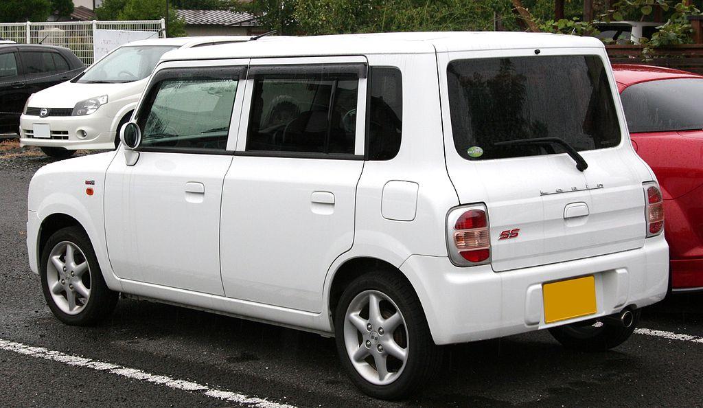 Suzuki Lapin - Andrew's Japanese Cars
