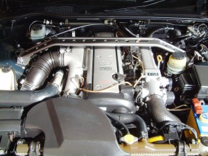 Picture of a Toyota Chaser JZX100 1JZ-GTE engine