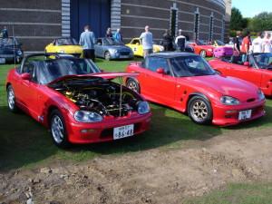 Picture of 2 Suzuki Cappuchino kei cars