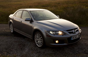Picture of the front right view of a 2006 Mazda 6 MPS