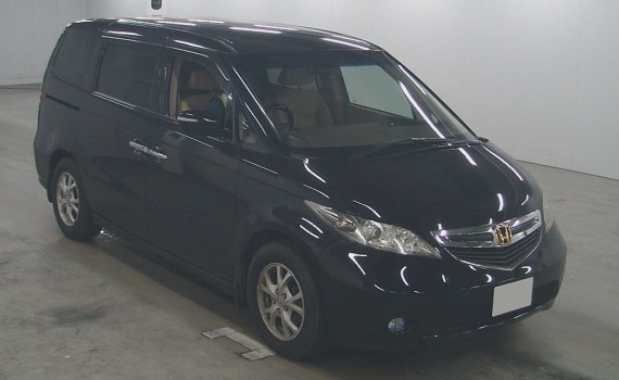 picture of the front of a Honda Elysion