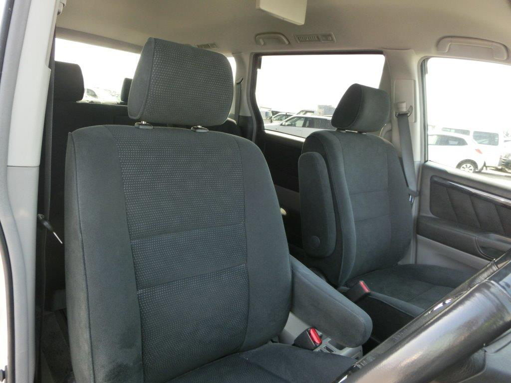 grey and black interior in a toyota alphard andrew 39 s japanese cars. Black Bedroom Furniture Sets. Home Design Ideas