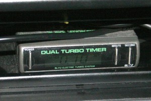 What is a turbo timer? This is a Blitz turbo timer