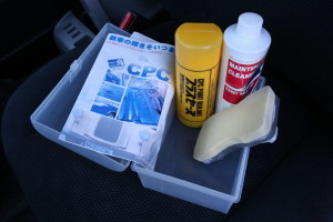 CPC paint sealant kit found in an imported Japanese car