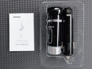MPow streambot Z packaging and instructions