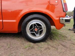 Honda Civic RS wheel