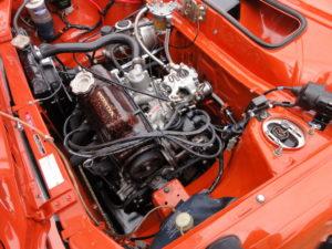 Honda Civic RS engine bay