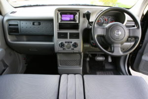 Nissan Cubic interior and dashboard