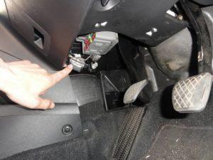 Picture of Honda CR-V OBD2 II port
