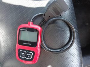 Picture of Foxwell NT200 for reading Honda P0325 code