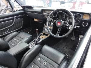 Picture of the interior of a Nissan Skyline GT-R PGC-10