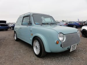 Picture of a Nissan Pao at Japfest Donington 2017