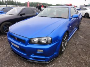 Picture of a Nissan Skyline GT-R R34