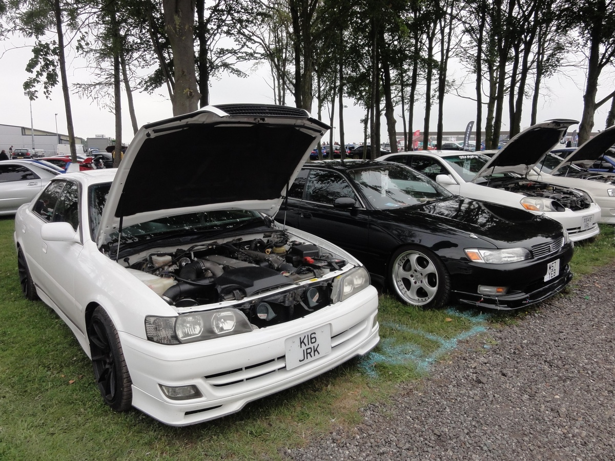 Picture of Toyota Chasers at Japfest Donington 2017