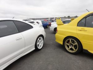 Picture of assorted rears at Japfest Donington 2017