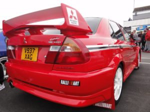 Picture of a Mitsubishi Lancer Evolution VI Tommi Makinen Edition