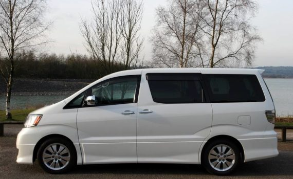 Picture of nearside - Toyota Alphard Review