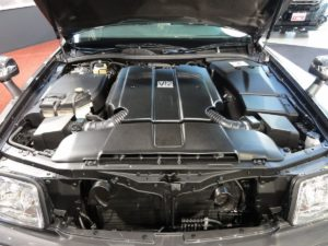 Picture of a Toyota Century engine bay