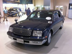 Picture of a Toyota Century at MegaWeb