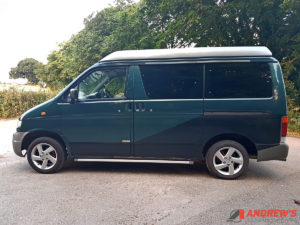 Picture of left side of Mazda Bongo Auto Free Top 2.5 TD for sale