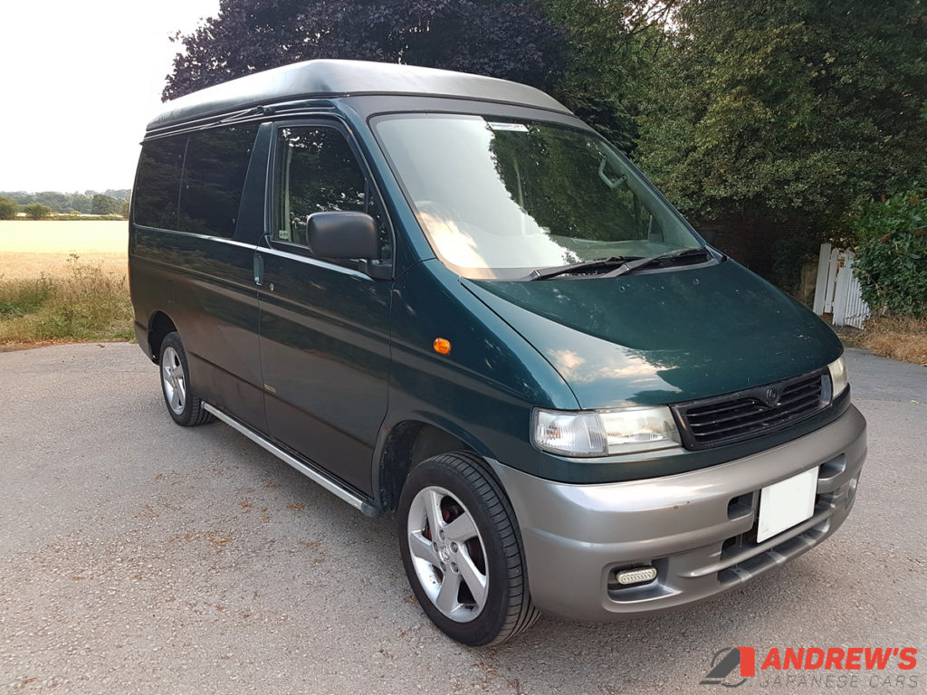 Picture of Mazda Bongo auto free top 2.5 TD for sale right front quarter