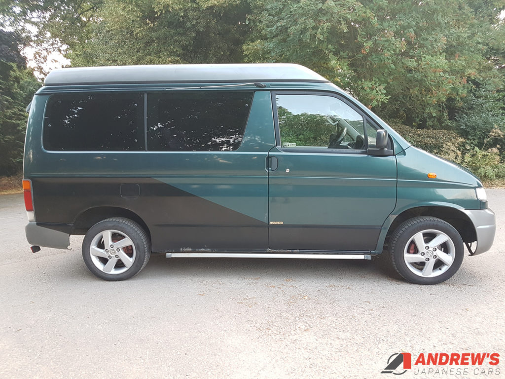 Picture of right side of Mazda Bongo Auto Free Top 2.5 TD for sale