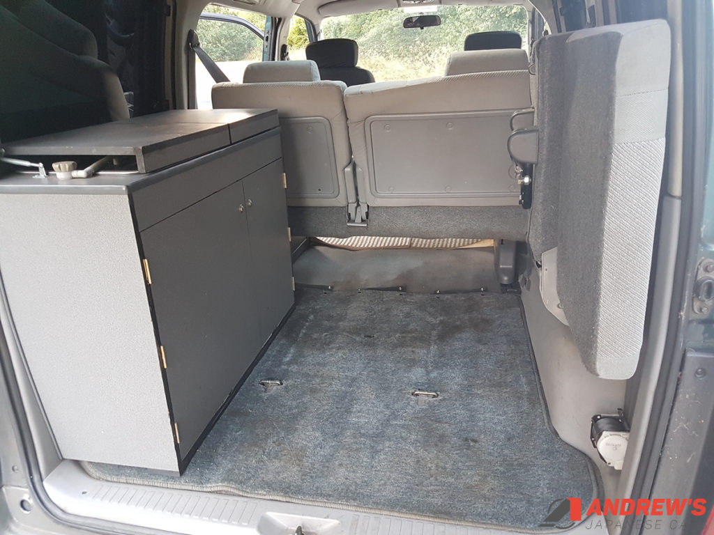 Picture of rear of Mazda Bongo auto free top for sale
