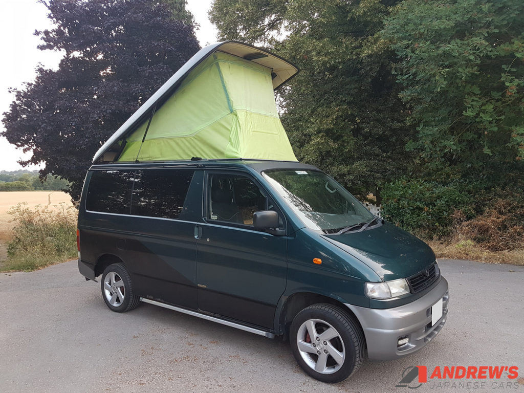 Picture of front right quarter of Mazda Bongo 2.5 TD for sale