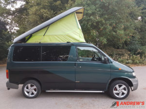 Picture of the right side of Mazda Bongo diesel for sale