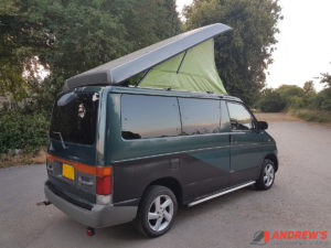 Picture of right rear quarter view of Mazda Bongo 2.5 diesel for sale