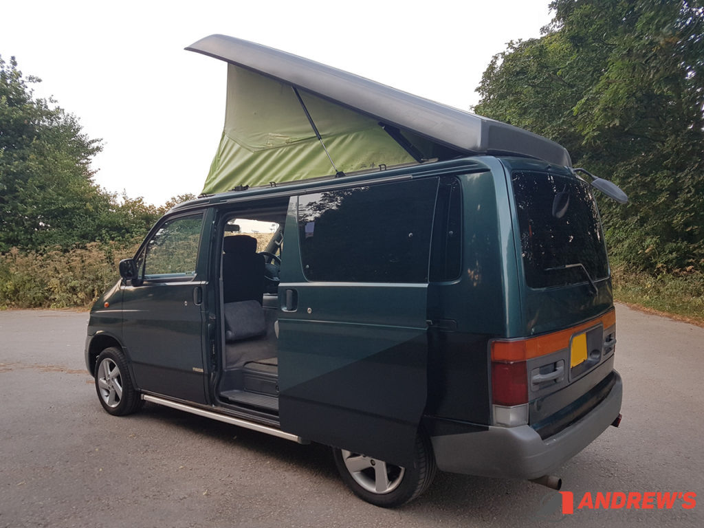 Picture of left rear quarter of Mazda Bongo 2.5 TD for sale