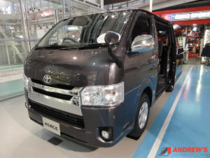 Picture of a Japanese Toyota Hiace