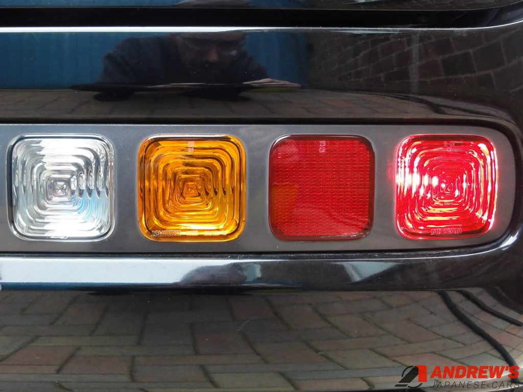 Picture of a Nissan Cubic right rear light cluster