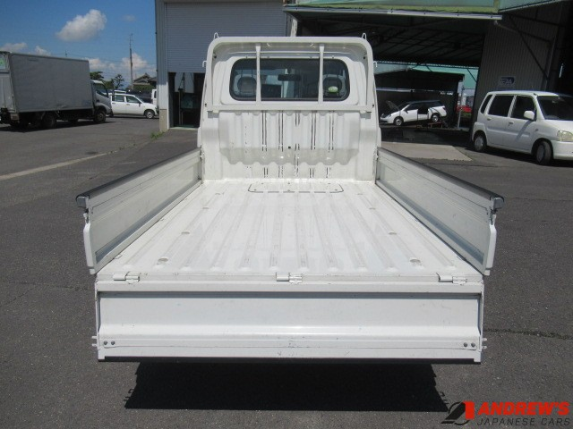 Picture showing Daihatsu Hijet truck load bed